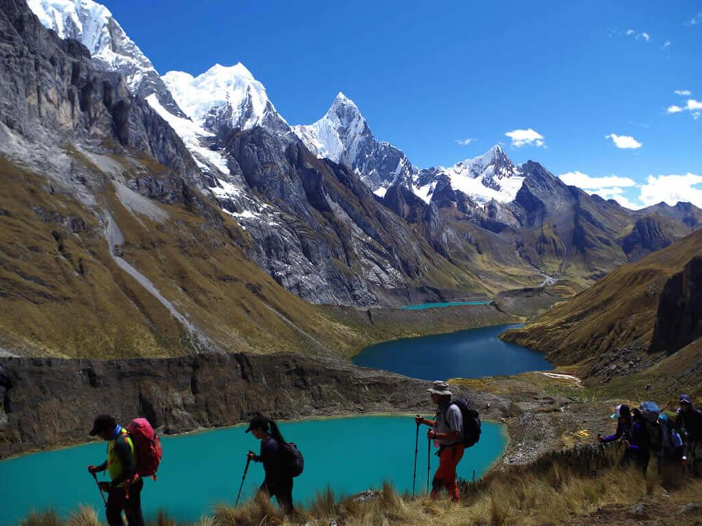 Randonnée dans la Cordillère Huayhuash au Pérou
