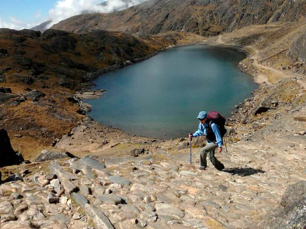 Randonnée Takesi en Bolivie