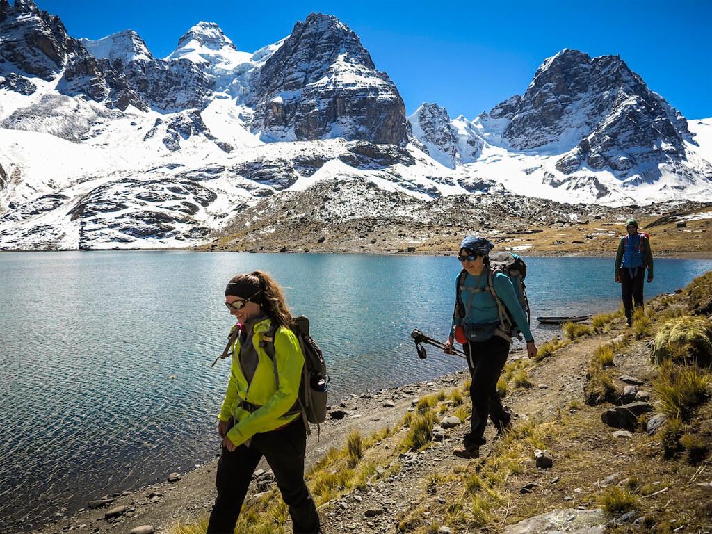 Randonnées dans la Cordillère Royale en Bolivie
