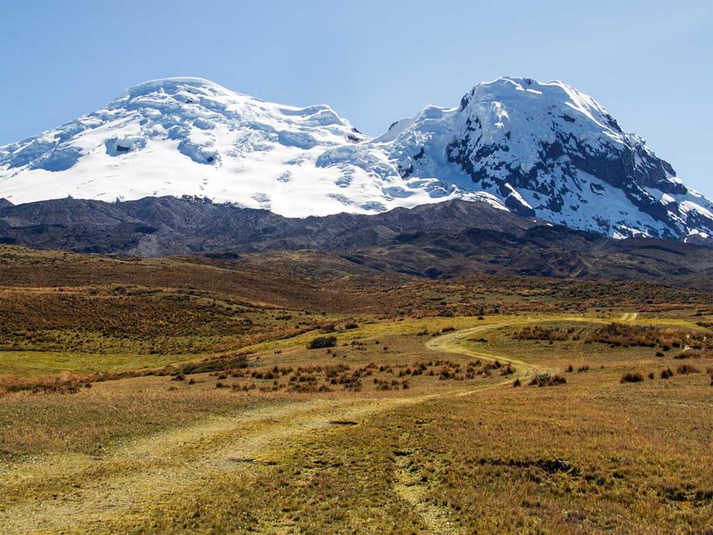Randonnées dans la réserve Antisana en Équateur