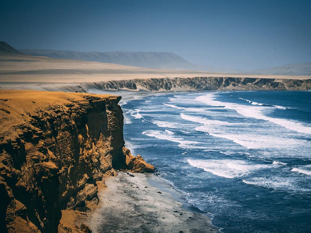 Réserve national de Paracas au Pérou