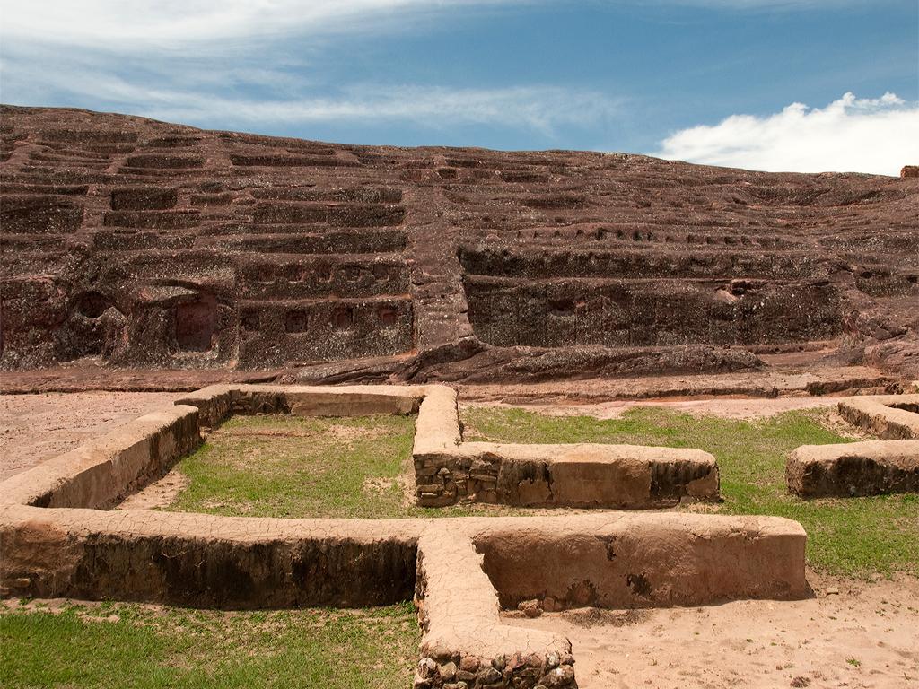 Ruines du Fort de Samaipata en Bolivie