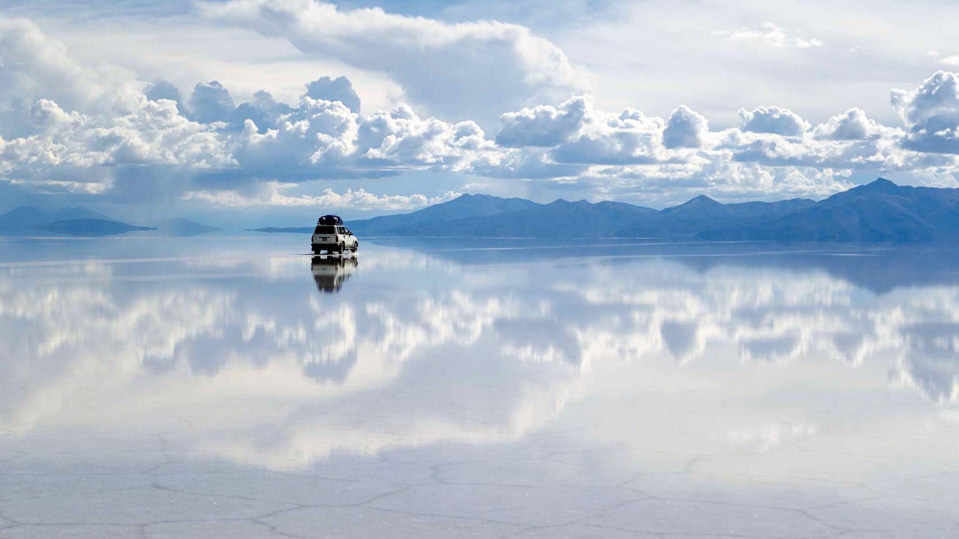 Salar d'Uyuni, le plus grand désert de sel au monde