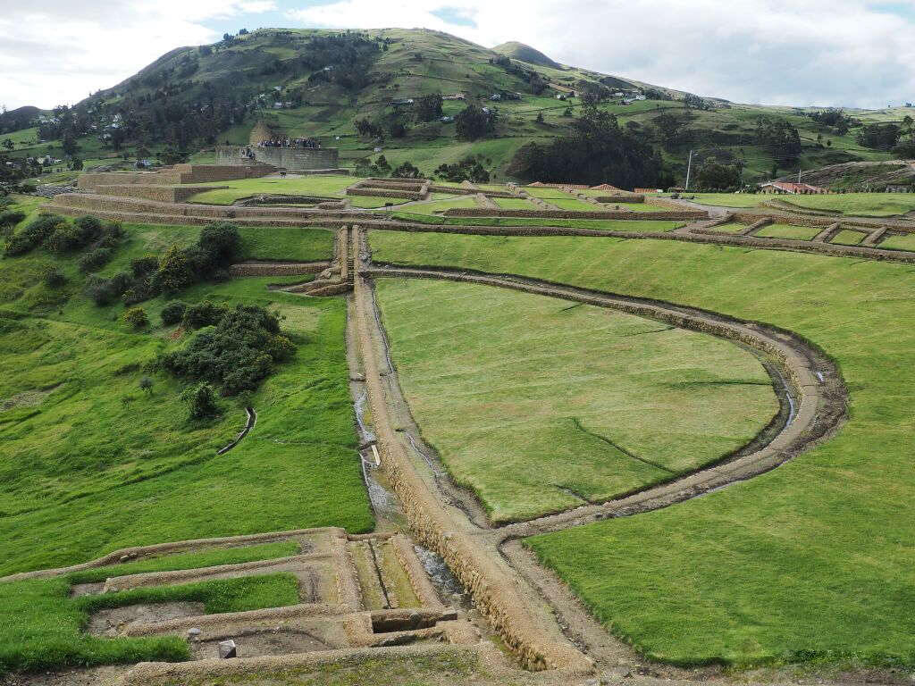 Site archéologique Ingapirca en Équateur