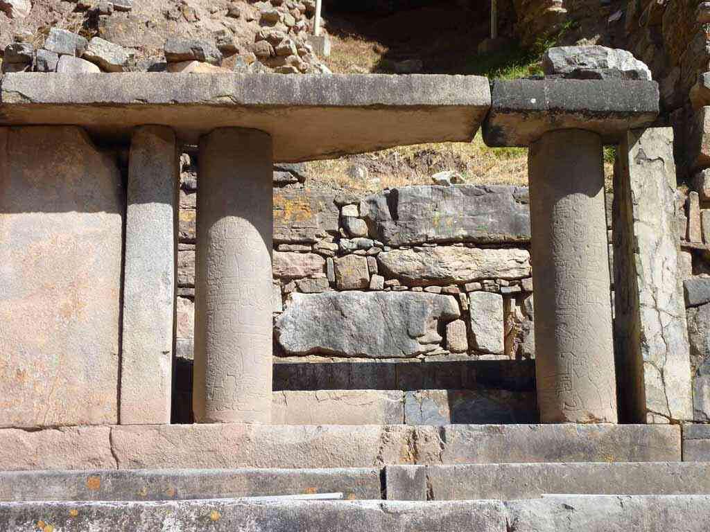 Temple de Chavín de Huántar au Pérou
