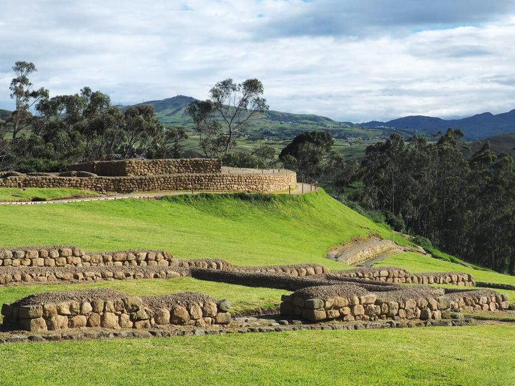 Temple de la Lune à Ingapirca en Équateur