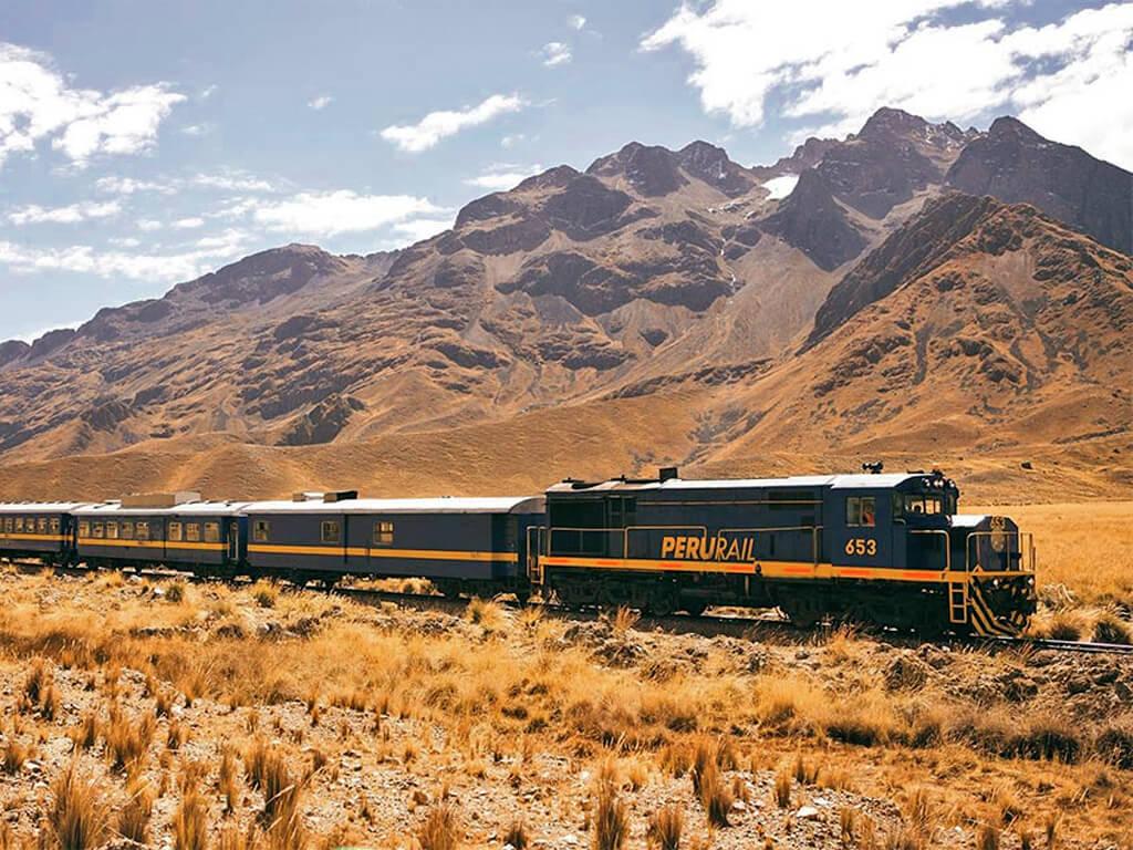 Voyage en train de Cuzco à Aguas Calientes au Pérou