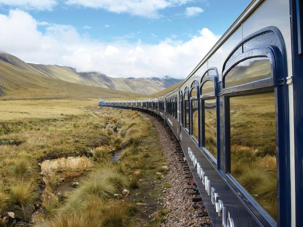 Voyage en train de Cuzco au lac Titicaca