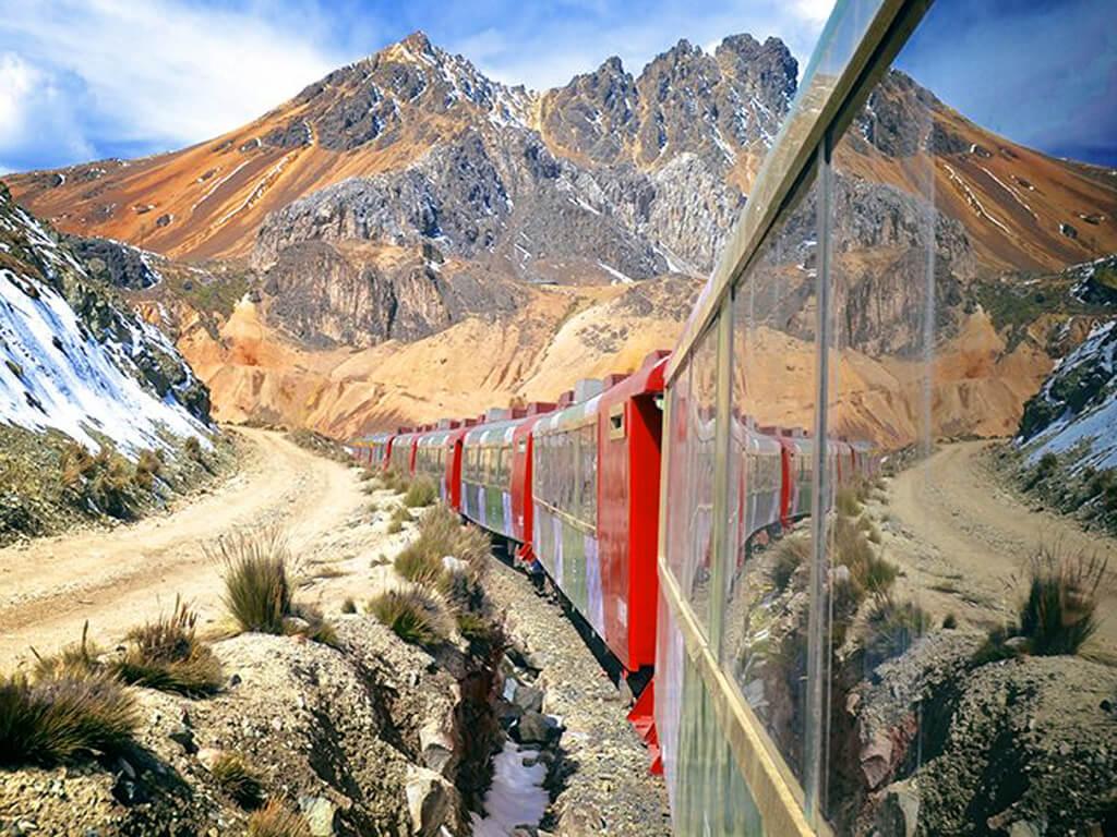 Voyage en train de Lima à Huancayo au Pérou