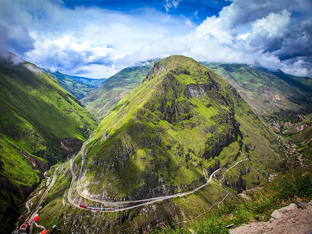 Train La Nariz del Diablo en Équateur