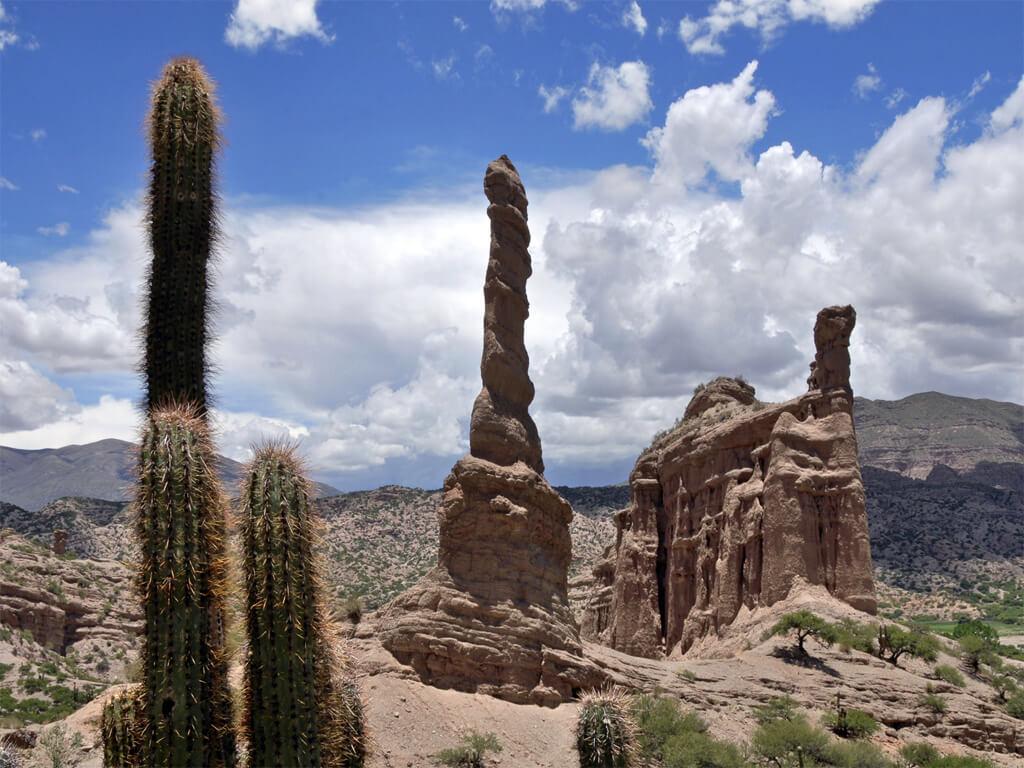 Valle de los Machos à Tupiza en Bolivie