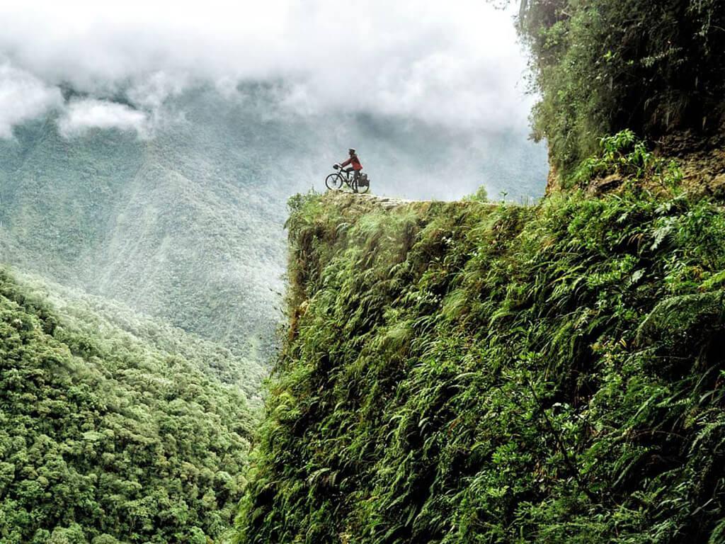La Route de la Mort à vélo en Bolivie