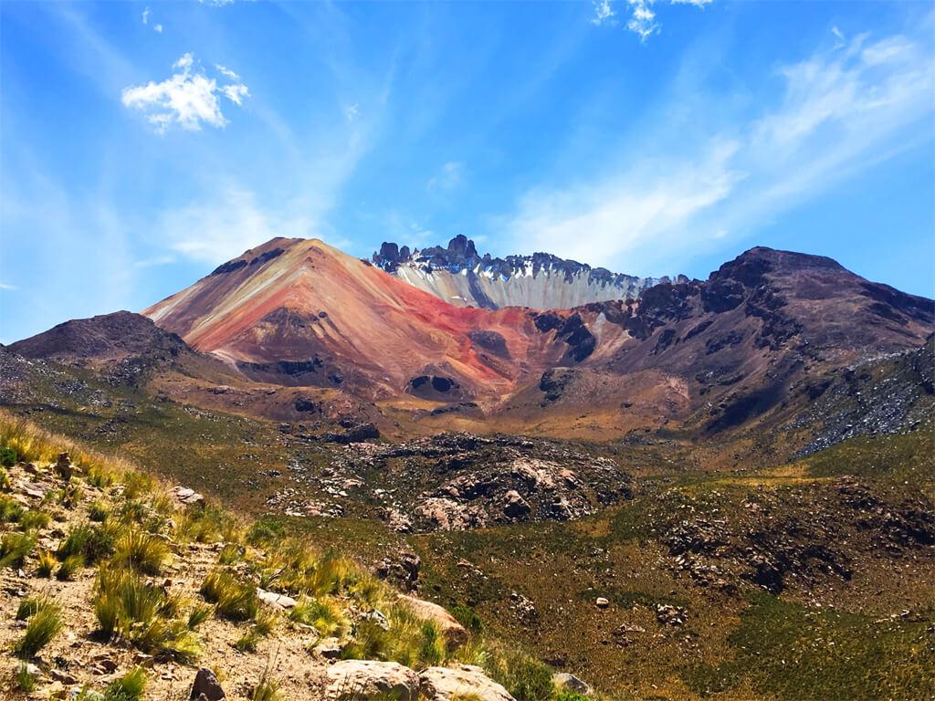 Volcan Tunupa en Bolivie