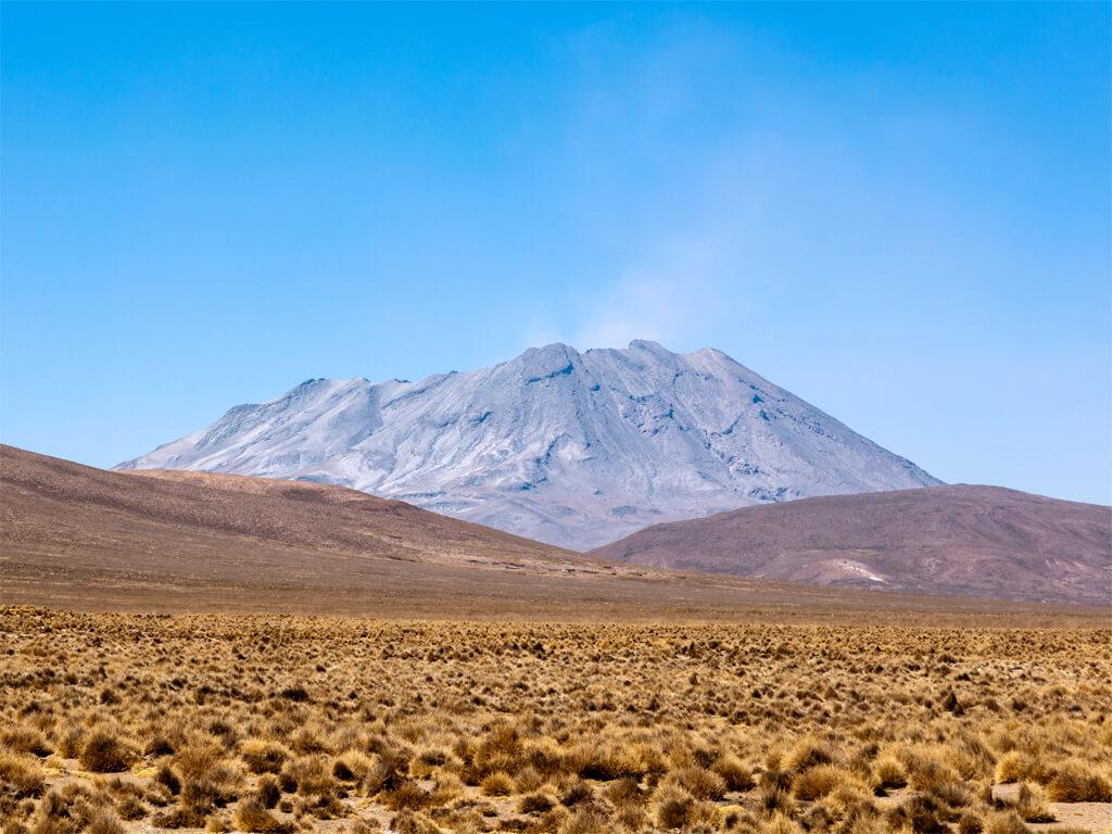 Volcan Ubinas au Pérou
