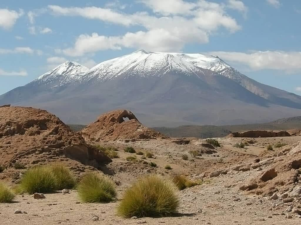 Andinisme sur le volcan Uturuncu en Bolivie