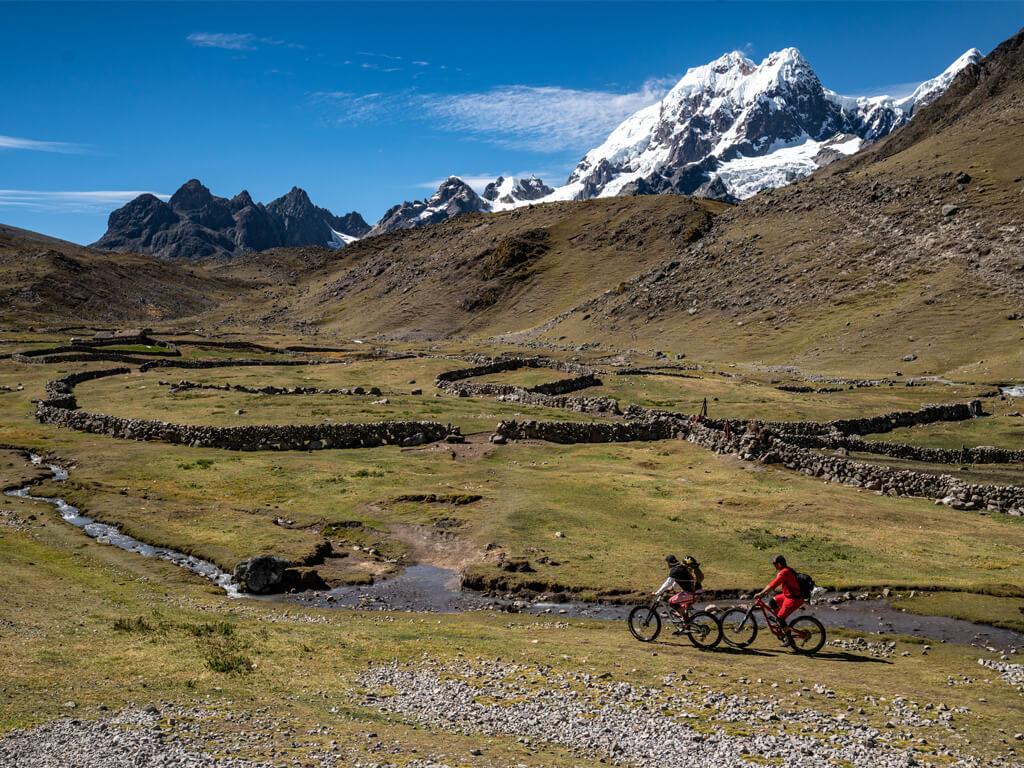 Du VTT à Chachapoyas au Pérou