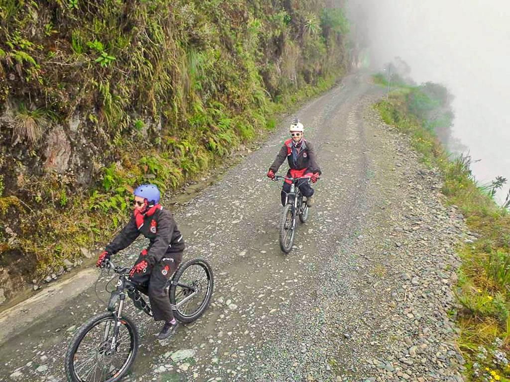 De La Paz à Coroico en VTT sur la Route de la Mort